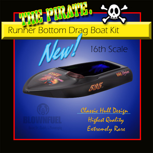 Runner Bottom Drag Boat-