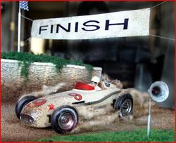 Vintage Indy Car Diorama